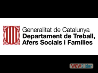 Generalitat de Catalunya Departament de Treball, Alters Socials i Familiars